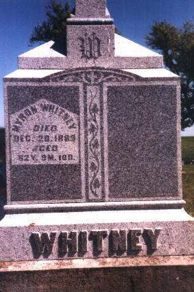 WHITNEY, MYRON - Poweshiek County, Iowa | MYRON WHITNEY