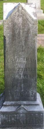 WICKHAM, A. R. - Poweshiek County, Iowa | A. R. WICKHAM