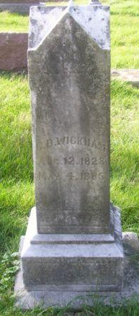WICKHAM, G. D. - Poweshiek County, Iowa   G. D. WICKHAM