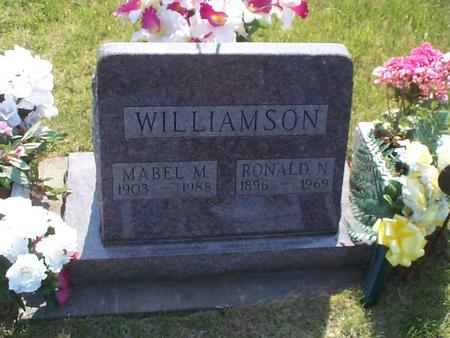WILLIAMSON, RONALD N. - Poweshiek County, Iowa | RONALD N. WILLIAMSON