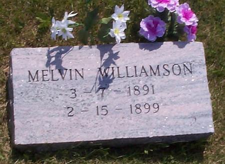 WILLIAMSON, MELVIN - Poweshiek County, Iowa | MELVIN WILLIAMSON