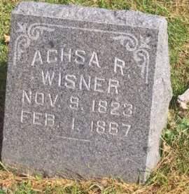 WISNER, ACHSA R. - Poweshiek County, Iowa | ACHSA R. WISNER