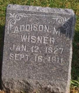 WISNER, ADDISON M. - Poweshiek County, Iowa | ADDISON M. WISNER