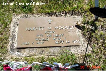 WOODLE, HARVEY M. - Poweshiek County, Iowa   HARVEY M. WOODLE