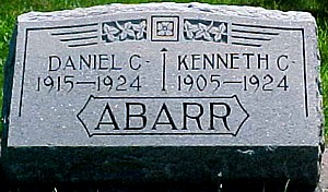 ABARR, KENNETH CLAIRE - Ringgold County, Iowa | KENNETH CLAIRE ABARR