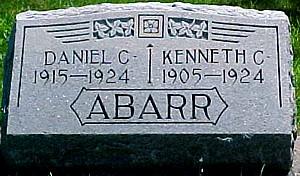 ABARR, DANIEL C. - Ringgold County, Iowa | DANIEL C. ABARR
