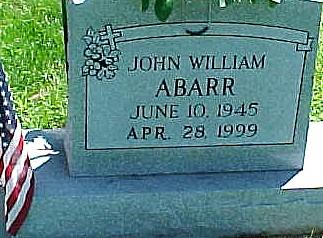 ABARR, JOHN WILLIAM - Ringgold County, Iowa | JOHN WILLIAM ABARR