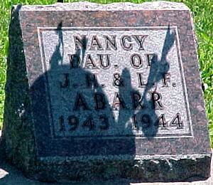 ABARR, NANCY - Ringgold County, Iowa   NANCY ABARR