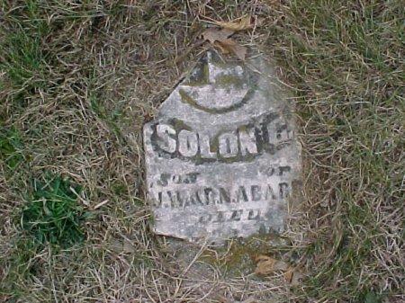 ABARR, SOLON - Ringgold County, Iowa   SOLON ABARR