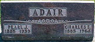 ADAIR, CHARLES E. - Ringgold County, Iowa | CHARLES E. ADAIR