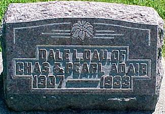 ADAIR, DALE LORRAINE - Ringgold County, Iowa | DALE LORRAINE ADAIR