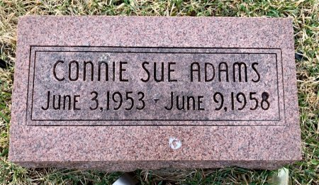 ADAMS, CONNIE SUE - Ringgold County, Iowa | CONNIE SUE ADAMS