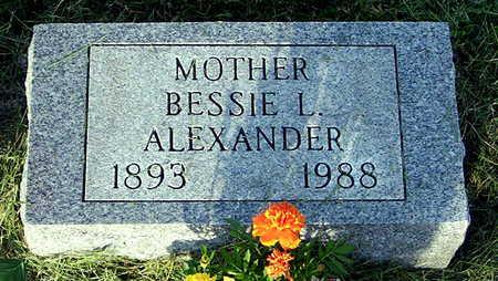 ALEXANDER, BESSIE L. - Ringgold County, Iowa | BESSIE L. ALEXANDER