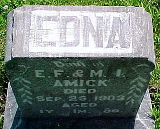 AMICK, EDNA - Ringgold County, Iowa   EDNA AMICK