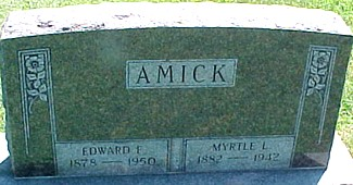 AMICK, EDWARD F. - Ringgold County, Iowa | EDWARD F. AMICK