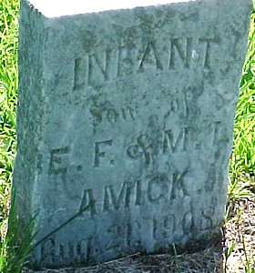 AMICK, INFANT SON - Ringgold County, Iowa | INFANT SON AMICK