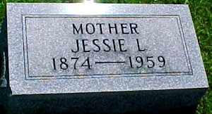 AMICK, JESSIE L, - Ringgold County, Iowa | JESSIE L, AMICK