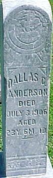 ANDERSON, DALLAS C. - Ringgold County, Iowa | DALLAS C. ANDERSON