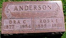 ANDERSON, ROSA E. - Ringgold County, Iowa | ROSA E. ANDERSON