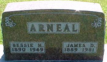 ARNEAL, JAMES DUNCAN - Ringgold County, Iowa | JAMES DUNCAN ARNEAL