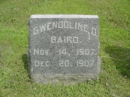 BAIRD, GWENDOLINE O. - Ringgold County, Iowa | GWENDOLINE O. BAIRD