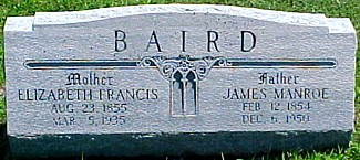 BAIRD, JAMES MANROE - Ringgold County, Iowa | JAMES MANROE BAIRD