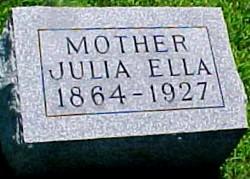 BAIRD, JULIA ELLA (MCMASTERS) - Ringgold County, Iowa | JULIA ELLA (MCMASTERS) BAIRD
