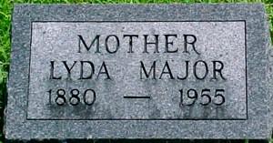 MAJOR BAIRD, LYDA GRACE - Ringgold County, Iowa | LYDA GRACE MAJOR BAIRD