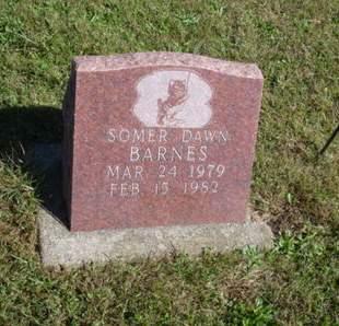 BARNES, SOMER DAWN - Ringgold County, Iowa   SOMER DAWN BARNES