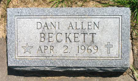 BECKETT, DANI ALLEN - Ringgold County, Iowa | DANI ALLEN BECKETT