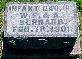 BERNARD, INFANT DAUGHTER - Ringgold County, Iowa | INFANT DAUGHTER BERNARD