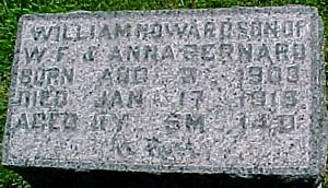 BERNARD, WILLIAM HOWARD - Ringgold County, Iowa   WILLIAM HOWARD BERNARD