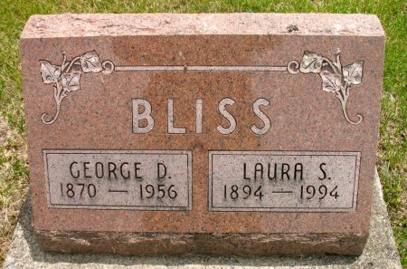 BLISS, GEORGE D. - Ringgold County, Iowa | GEORGE D. BLISS