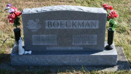 BOECKMAN, VERA - Ringgold County, Iowa | VERA BOECKMAN