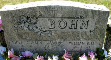 BOHN, WILLIAM
