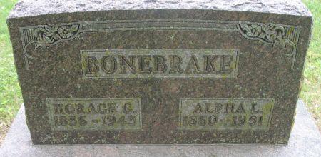 BONEBRAKE, HORACE G. - Ringgold County, Iowa   HORACE G. BONEBRAKE