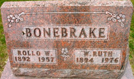 BONEBRAKE, ROLLO W. - Ringgold County, Iowa | ROLLO W. BONEBRAKE