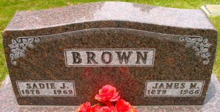 BROWN, JAMES M. - Ringgold County, Iowa | JAMES M. BROWN