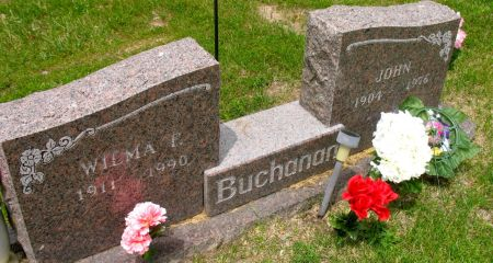 BUCHANAN, WILMA F. - Ringgold County, Iowa   WILMA F. BUCHANAN