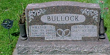 BULLOCK, FRANCES M. (PARKER) - Ringgold County, Iowa | FRANCES M. (PARKER) BULLOCK
