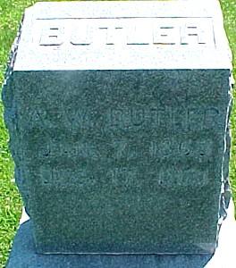 BUTLER, A. W. - Ringgold County, Iowa | A. W. BUTLER