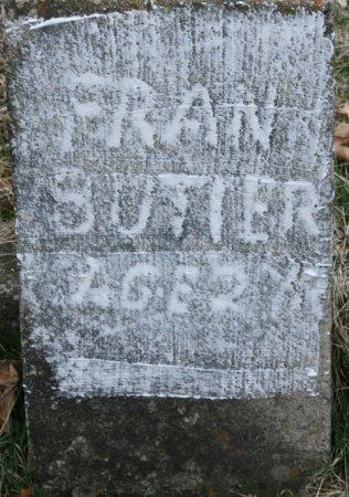 BUTLER, FRANK - Ringgold County, Iowa | FRANK BUTLER