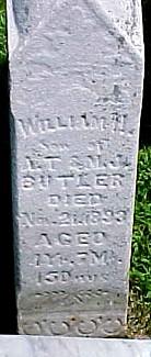 BUTLER, WILLIAM HARRISON - Ringgold County, Iowa   WILLIAM HARRISON BUTLER
