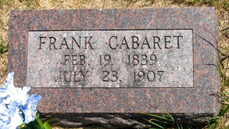 CABARET, FRANK - Ringgold County, Iowa | FRANK CABARET