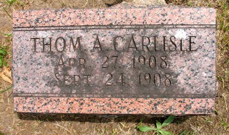 CARLISLE, THOMAS A. - Ringgold County, Iowa | THOMAS A. CARLISLE