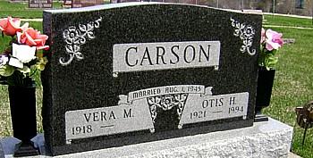 CARSON, VERA M. - Ringgold County, Iowa | VERA M. CARSON