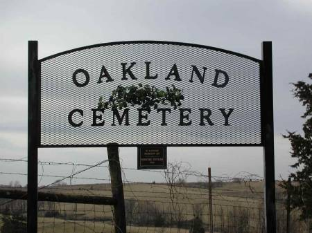 Oakland (a k a  Shannon City) Cemetery - Ringgold County, Iowa