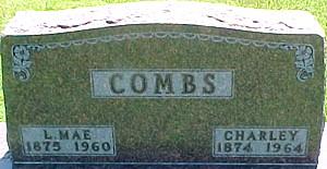 COMBS, CHARLEY - Ringgold County, Iowa   CHARLEY COMBS