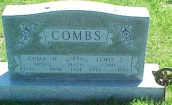 COMBS, CUMA H. (BROWN) - Ringgold County, Iowa | CUMA H. (BROWN) COMBS
