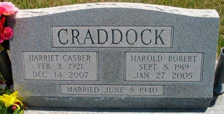 CRADDOCK, HARRIET - Ringgold County, Iowa | HARRIET CRADDOCK